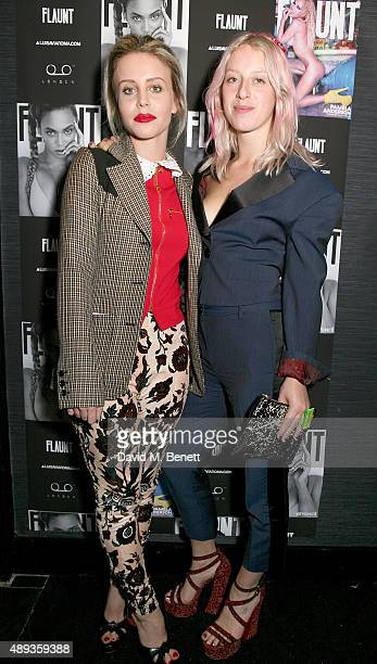 Billie JD Porter and Harriet Verney attend the Flaunt Magazine and Luisaviaroma celebrate the release of the CALIFUK issue during London Fashion Week...