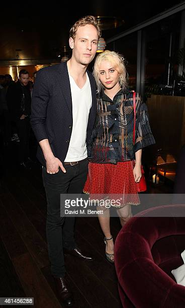 Billie JD Porter and Jack Fox at Christian Lacroix Paris Supa Model Management And GREY GOOSE Host for London Collections Mens At Mondrian London on...
