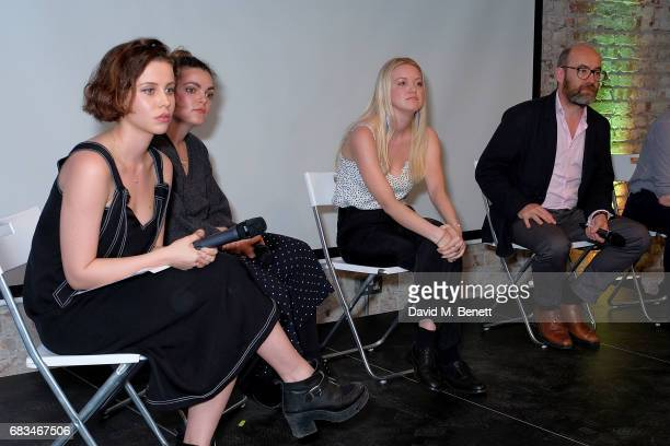 Billie JD Porter Anna Rose BarkerShelly Asquith and Sir Jim Knight attend the 'Use Your Voice' event addressing the state of political engagement...