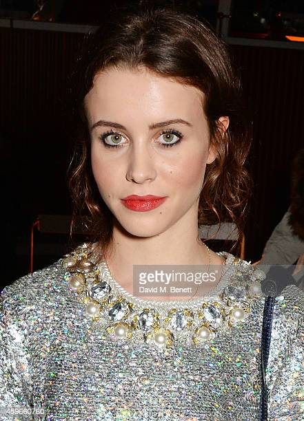Billie JD Porter attends as Bistrotheque and Hoi Polloi unveil their Christmas Lights on November 27 2014 in London England