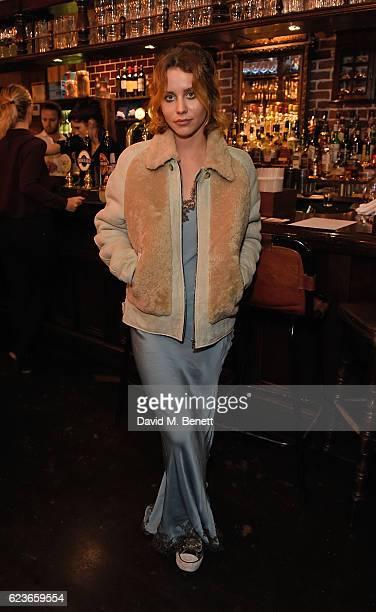 Billie JD Porter attends Frame Pub Quiz on November 16 2016 in London England