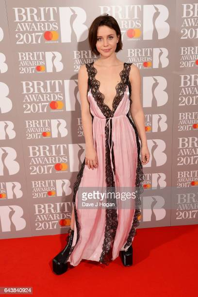 ONLY Billie JD Porter attends The BRIT Awards 2017 at The O2 Arena on February 22 2017 in London England
