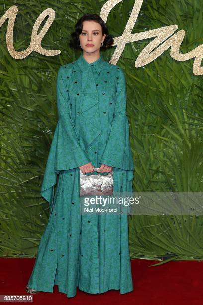 Billie JD Porter attends The Fashion Awards 2017 in partnership with Swarovski at Royal Albert Hall on December 4 2017 in London England