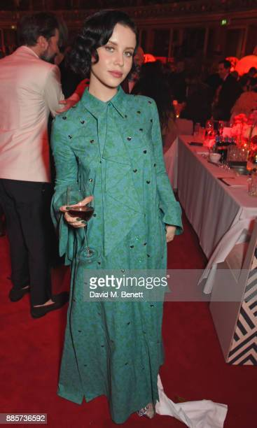 Billie JD Porter attends The Fashion Awards 2017 in partnership with Swarovski after party at Royal Albert Hall on December 4 2017 in London England