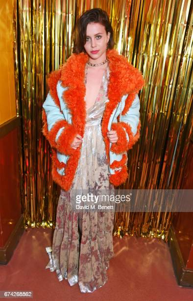 Billie JD Porter attends the Gucci and iD party celebrating the Gucci PreFall 2017 campaign at the Mildmay Club in Stoke Newington on April 27 2017...