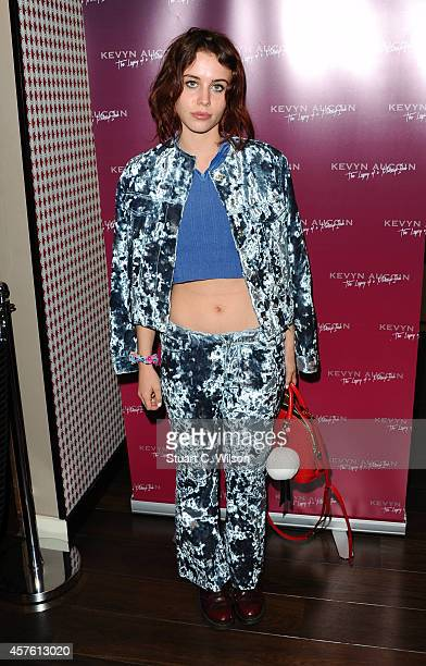 Billie JD Porter attends the launch of a new collaboration between Space NK Kevyn Aucoin on October 21 2014 in London England