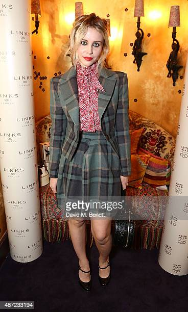 Billie JD Porter attends the Links of London 25th Anniversary party at Loulou's on September 7 2015 in London England