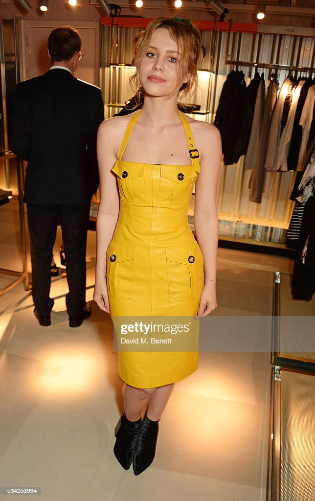 Billie JD Porter attends the London Evening Standard Londoner's Diary 100th Birthday Party in partnership with Harvey Nichols at Harvey Nichols on May 25, 2016 in London, England.