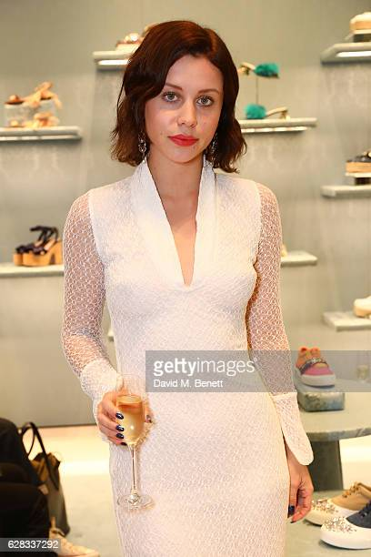 Billie JD Porter attends the Miu Miu Cocktail Party for the SS17 Collection at Miu Miu New Bond Street on December 7 2016 in London England