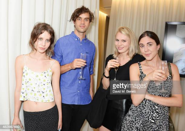 Billie JD Porter KC Underwood Alice Costelloe and Lucy Porter attend the launch of the Bella Freud Parfum frangrance at Harvey Nichols on July 23...