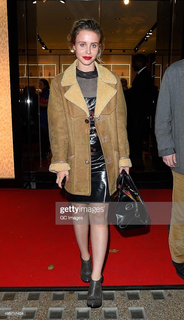 London Celebrity Sightings -  November 4, 2015