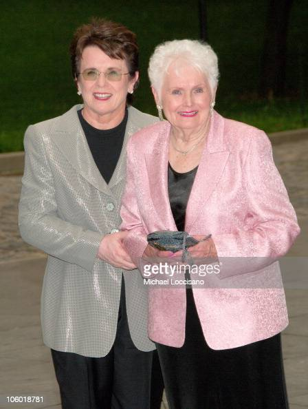 Billie Jean King and Mother...