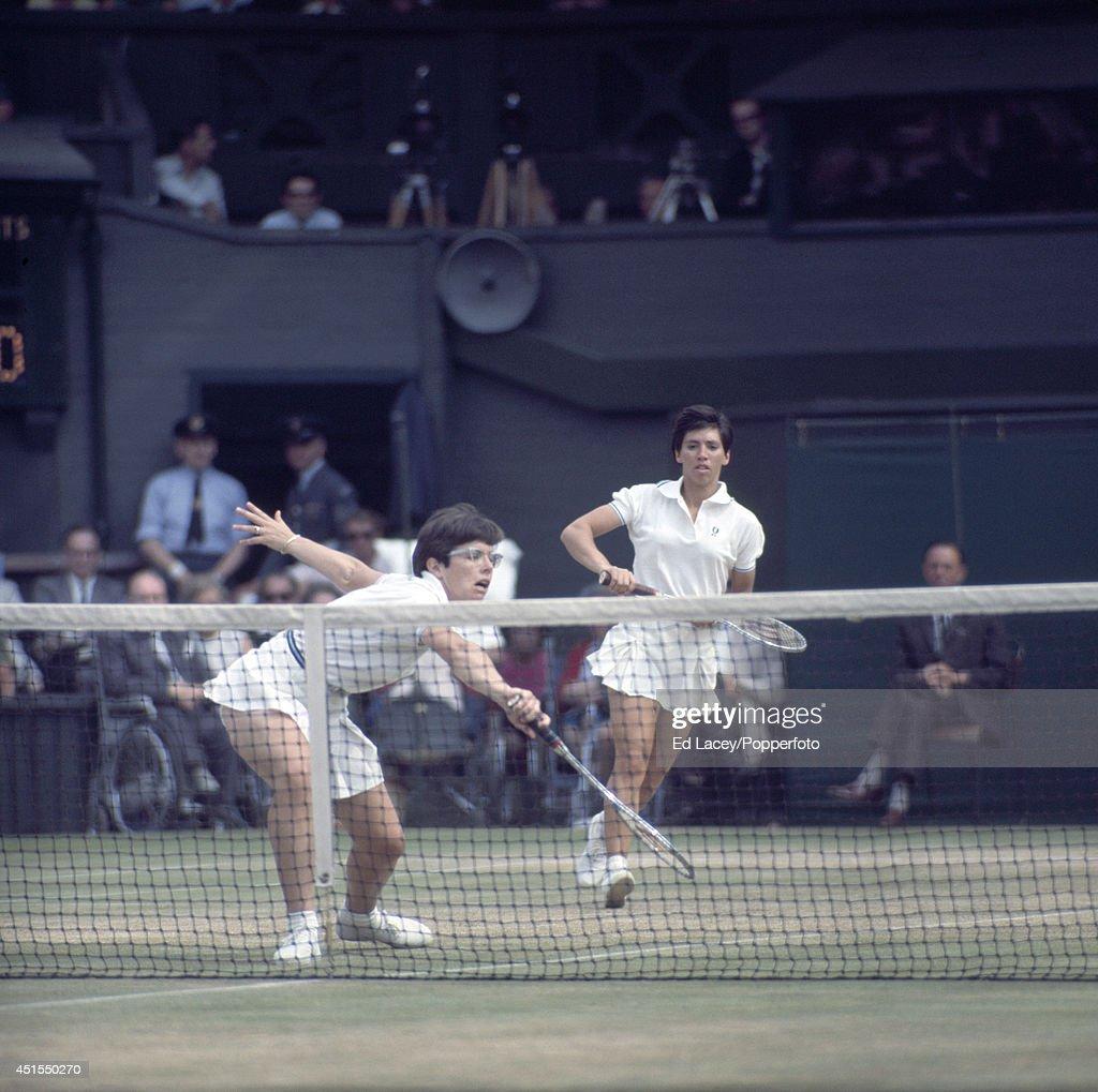 Billie Jean King And Rosie Casals Wimbledon
