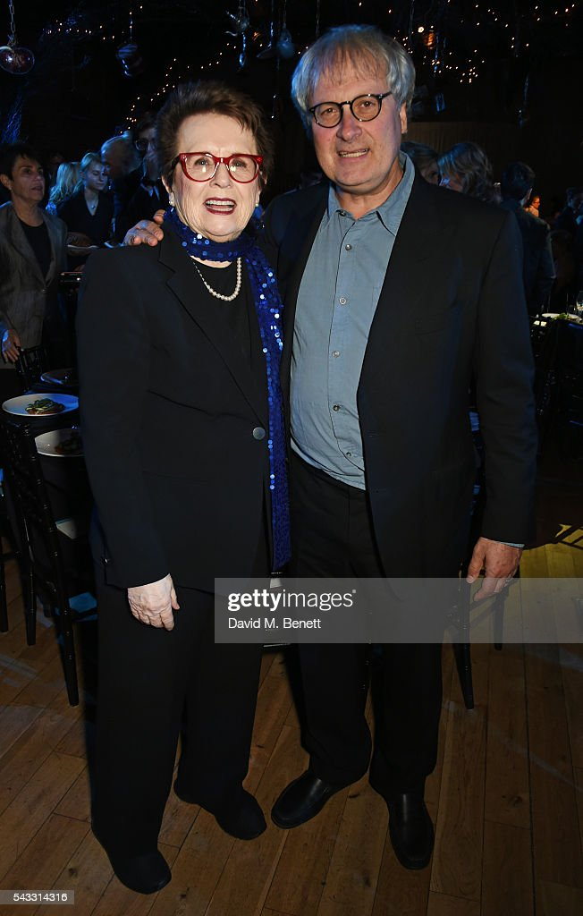 <a gi-track='captionPersonalityLinkClicked' href=/galleries/search?phrase=Billie+Jean+King&family=editorial&specificpeople=93147 ng-click='$event.stopPropagation()'>Billie Jean King</a> (L) and Simon Curtis attend the Summer Gala for The Old Vic at The Brewery on June 27, 2016 in London, England.