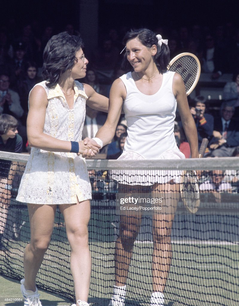 Billie Jean King And Olga Morozova Wimbledon