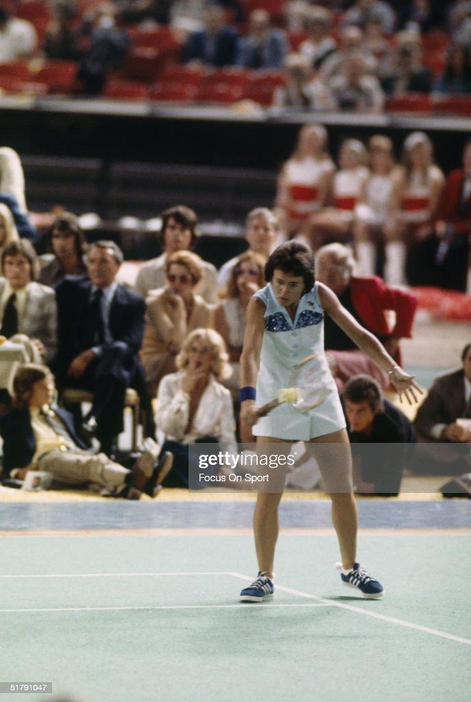 Billie Jean King Battle of the Sexes tennis dress