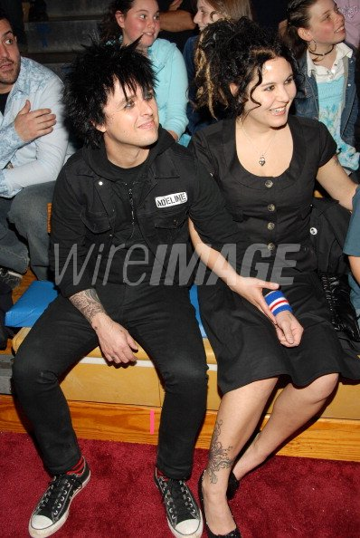 Billie Joe Armstrong Of Green Day And Wife Adrienne Armstrong Wireimage 106101251 Adrienne armstrong remains dedicated to her husband, billie joe, regardless of his admitted formally adrienne nesser, until she married green day's frontman, billie joe armstrong in july 1994. http www wireimage com celebrity pictures billie joe armstrong of green day and wife adrienne armstrong 106101251