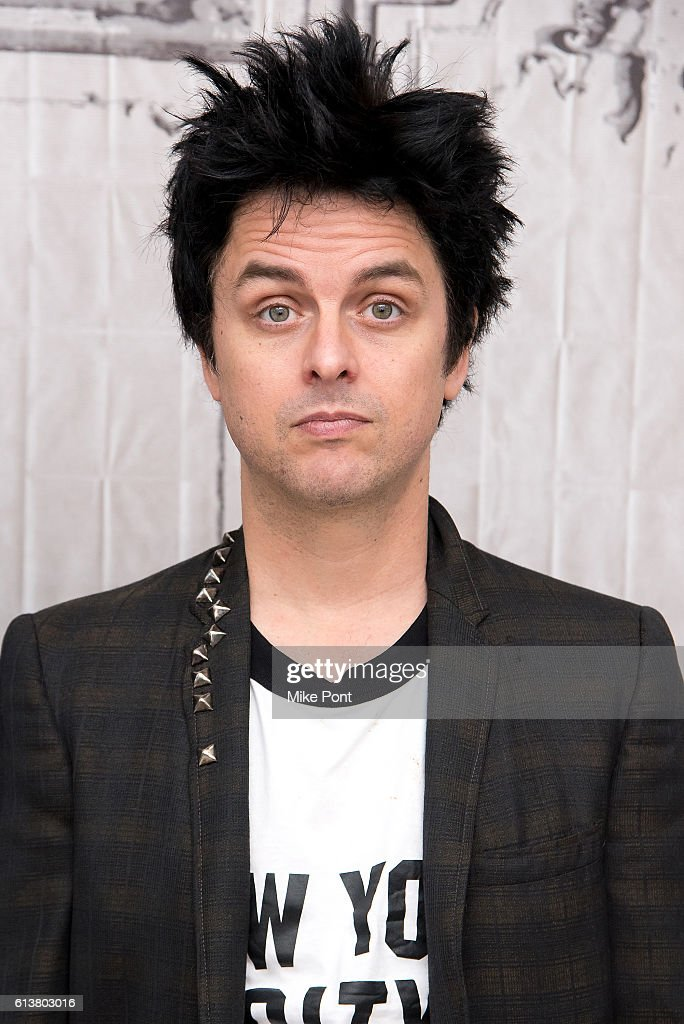 Billie Joe Armstrong of Green Day attends the Build Series to discuss the film 'Ordinary World' at AOL HQ on October 10, 2016 in New York City.
