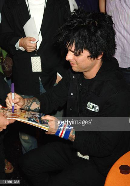 Billie Joe Armstrong of Green Day **exclusive coverage**