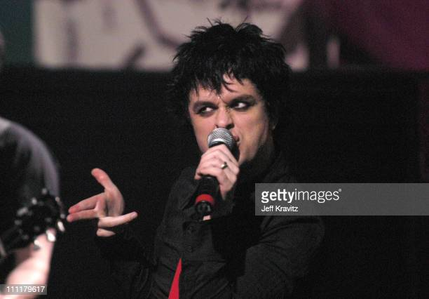 Billie Joe Armstrong of Green Day **exclusive**