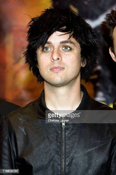 Billie Joe Armstrong of Green Day poses at Green Day instore at Hot Topic on June 2 2009 in Hollywood California