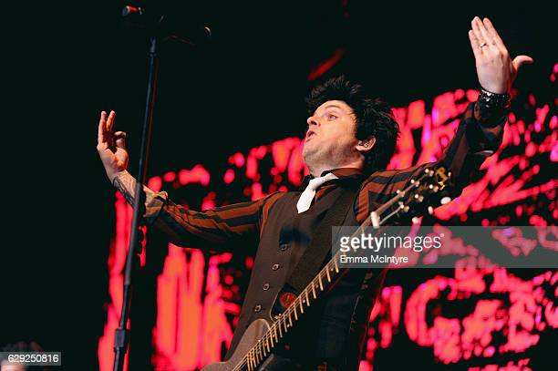 Billie Joe Armstrong of the band Green Day performs onstage at 1067 KROQ Almost Acoustic Christmas 2016 Night 2 at The Forum on December 11 2016 in...