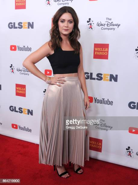 Billie Lourd arrives at the 2017 GLSEN Respect Awards at the Beverly Wilshire Four Seasons Hotel on October 20 2017 in Beverly Hills California
