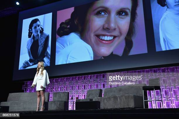 Billie Lourd attends the Star Wars Celebration Day 1 on April 13 2017 in Orlando Florida