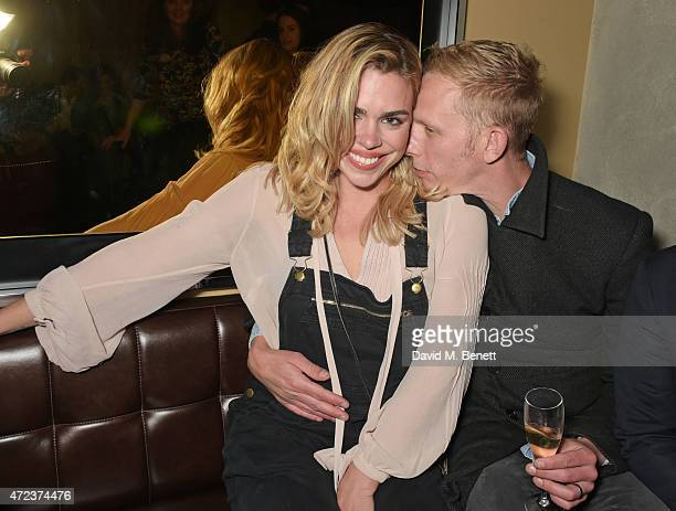 Billie Piper and Laurence Fox attend the St Martins Lane hotel relaunch party at Blind Spot on May 6 2015 in London England