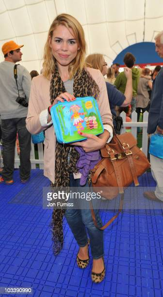 Billie Piper attends In The Night GardenLive at the O2 on August 15 2010 in London England