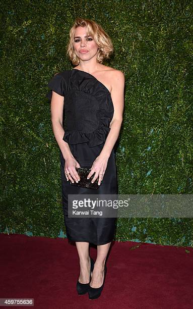 Billie Piper attends the 60th London Evening Standard Theatre Awards at London Palladium on November 30 2014 in London England