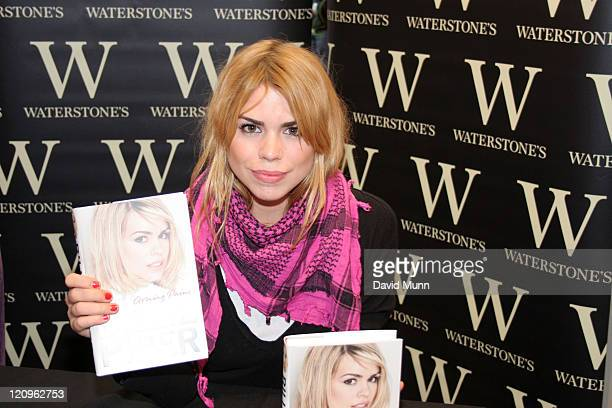 Billie Piper during Billie Piper Signs Copies of Her Book 'Growing Pains' October 28 2006 at Waterstones in Liverpool Merseyside Great Britain