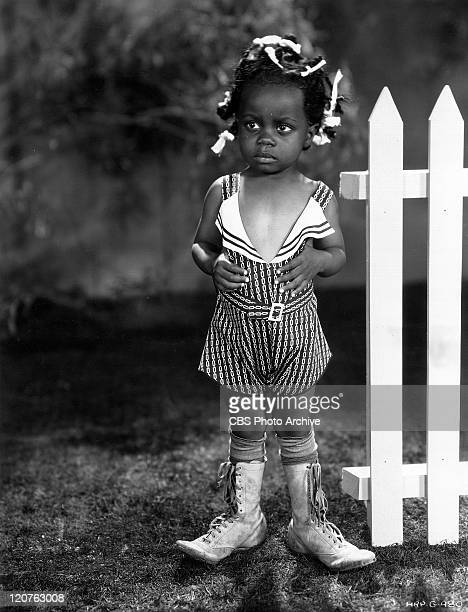 Billie Thomas as Buckwheat in the Our Gang series later to be known as The Little Rascals Image dated 1934