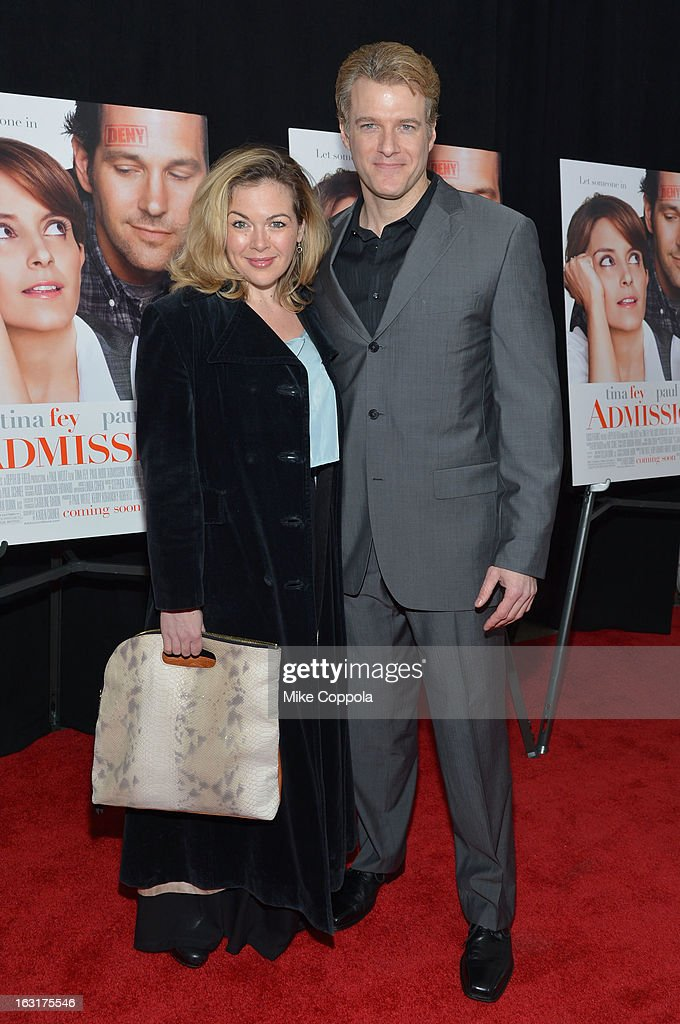 Billie Wildrick and Ed Watts attend the 'Admission' New York Premiere at AMC Loews Lincoln Square 13 on March 5, 2013 in New York City.