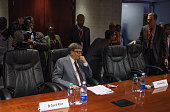 US billionaire and philanthropist Bill Gates sits as he attends a meeting at the International Aids conference in Durban ton July 20 2016 Promising...