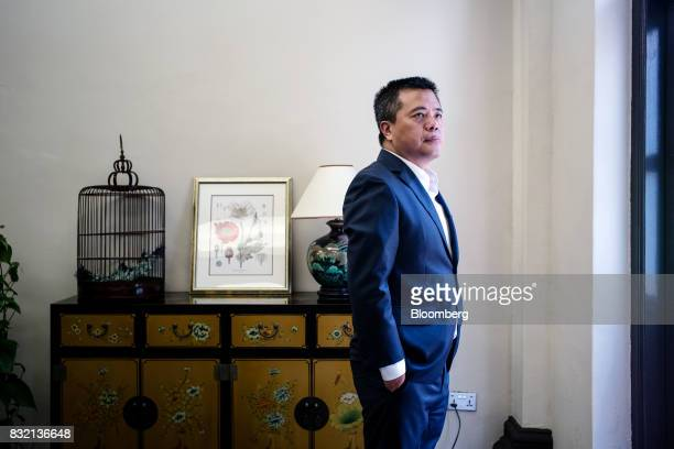 Billionaire Chen Tianqiao founder and chairman of Shanda Group poses for a portrait in Singapore on Friday June 9 2017 A dozen years ago the largest...