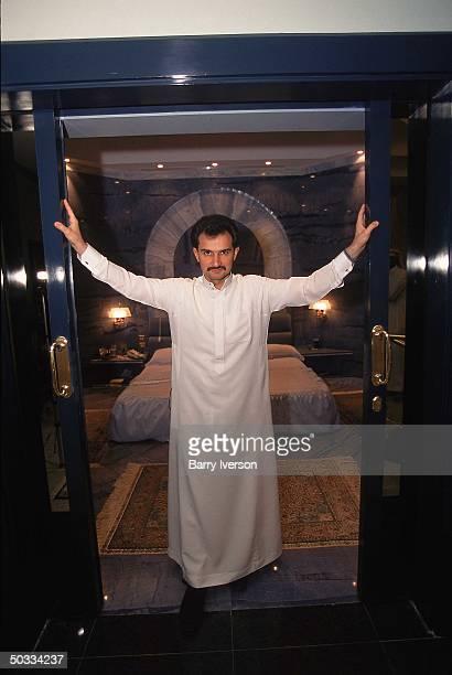 Billionaire investor Saudi Prince Alwaleed