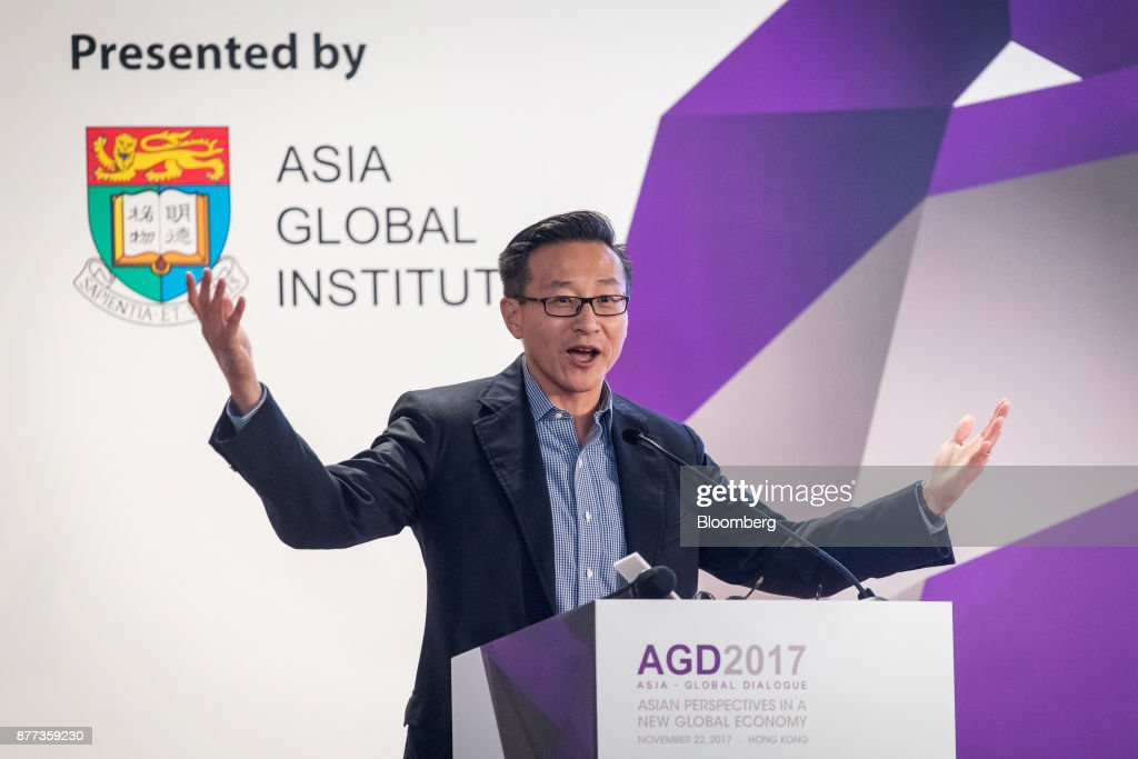 Alibaba Co-Vice Chairman Joseph Tsai Speaks At Asia-Global Dialogue Conference