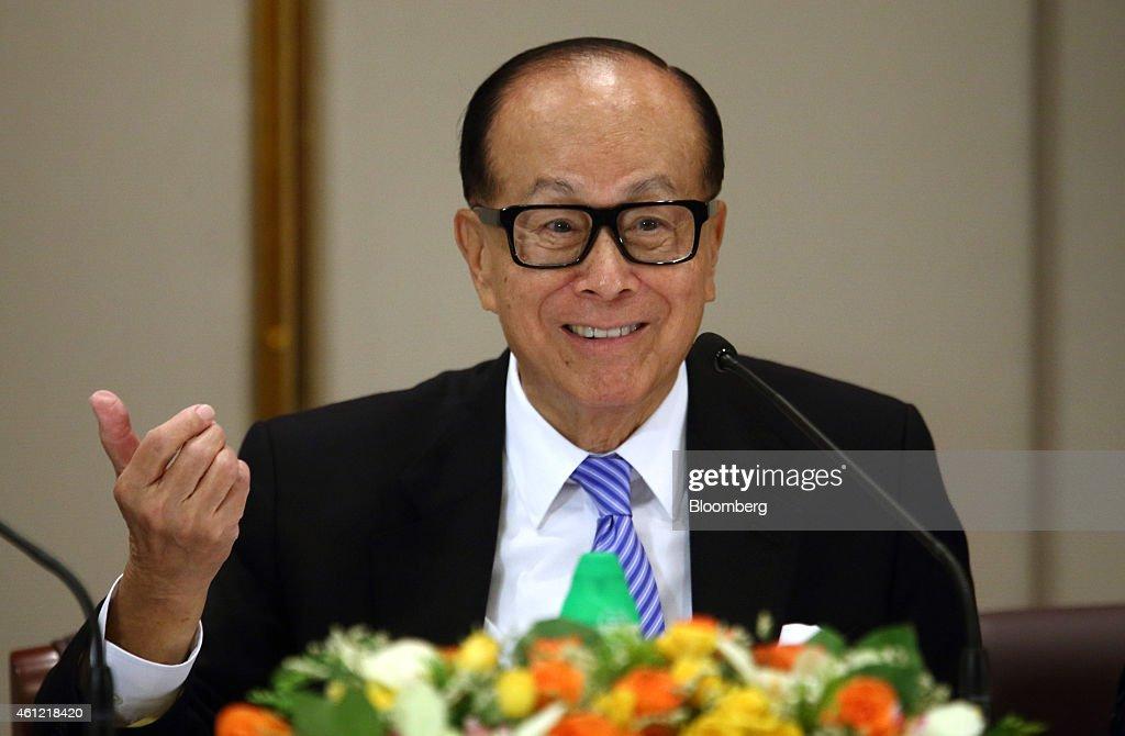 Billionaire Li Ka-shing Announces Plans To Revamp And Combine Cheung Kong Holdings And Hutchison Whampoa Businesses