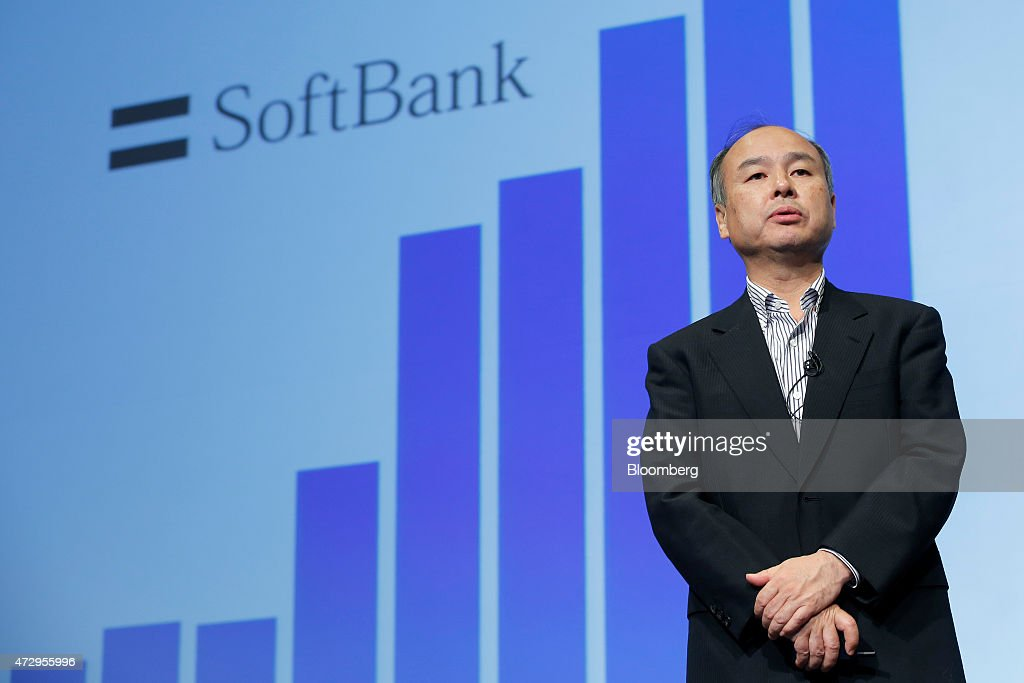 softbank ceo masayshi son earnings news conference getty images. Black Bedroom Furniture Sets. Home Design Ideas