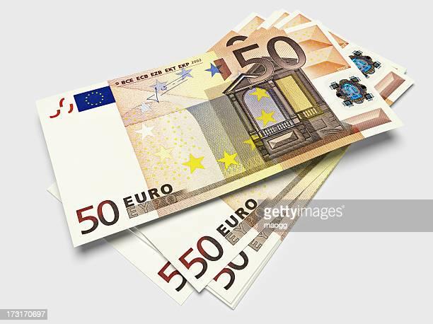 Bills of fifty Euros