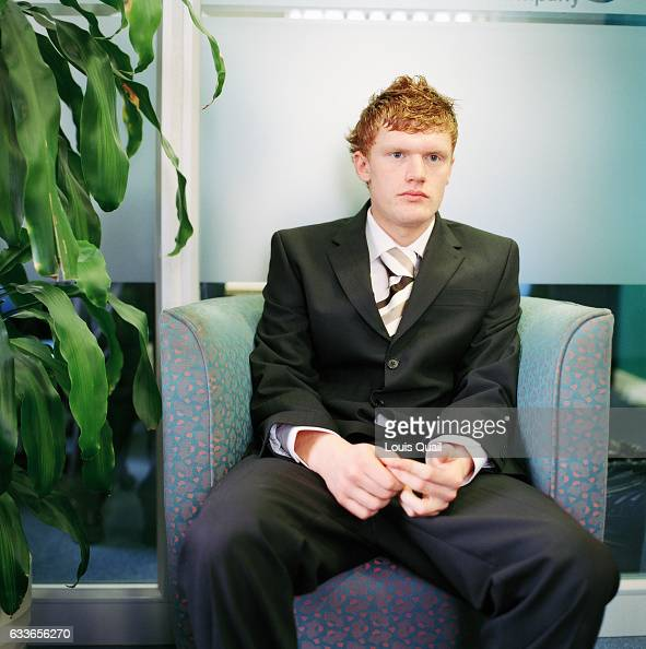 Billy Astel waiting for an interview for the position of call centre agent at the Listening Company in Richmond Is it possible to see pre interview...