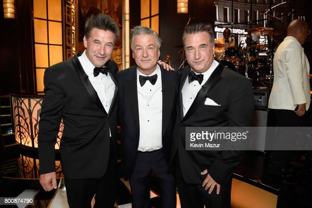 Billy Baldwin Alec Baldwin and Daniel Baldwin attend Spike's 'Spike's One Night Only Alec Baldwin' at The Apollo Theater on June 25 2017 in New York...
