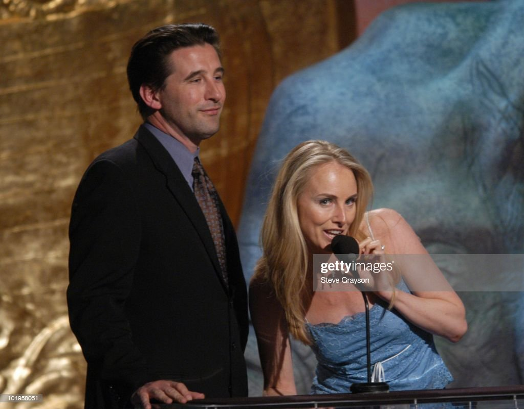 Billy Baldwin and Chynna Phillips-Baldwin. during The 17th Annual Genesis Awards - Show at The Beverly Hilton Hotel in Beverly Hills, California, United States.