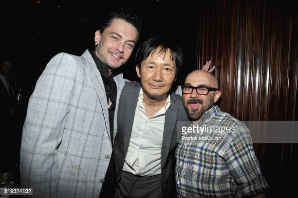 Billy Beyond Benjamin Liu and David Yarritu attend Birthday Celebration for DIANNE BRILL Hosted by SUSANNE BARTSCH at Royalton on April 8 2010 in New...