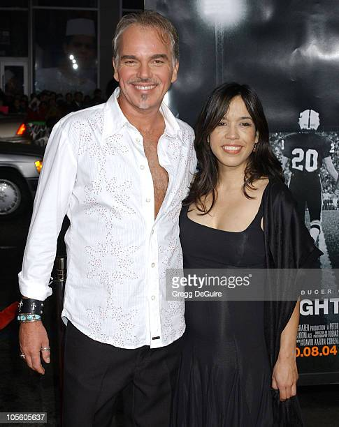 Billy Bob Thornton and Connie Angland during 'Friday Night Lights' Los Angeles Premiere Arrivals at Grauman's Chinese Theatre in Hollywood California...