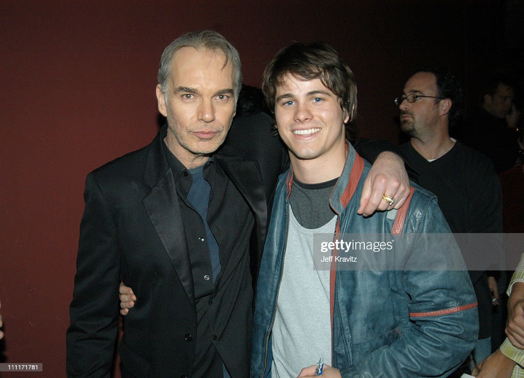 Billy Bob Thornton and Jason Ritter during 'Bad Santa' - Los Angeles Premiere and After-Party at Bruin Theater in Westwood, California, United States.