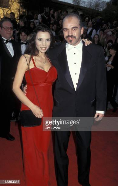 Billy Bob Thornton and wife Pietra during 3rd Annual Screen Actors Guild Awards at Shrine Exposition Center in Los Angeles California United States