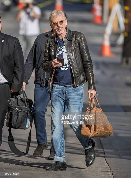 Billy Bob Thornton is seen at 'Jimmy Kimmel Live' on October 04 2016 in Los Angeles California