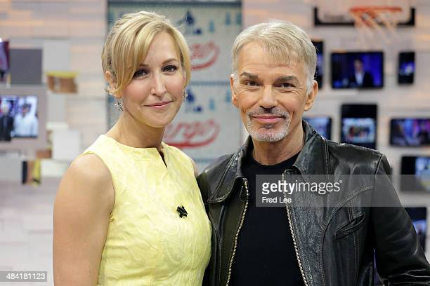 AMERICA Billy Bob Thorton is a guest on 'Good Morning America' 4/11/14 airing on the ABC Television Network LARA